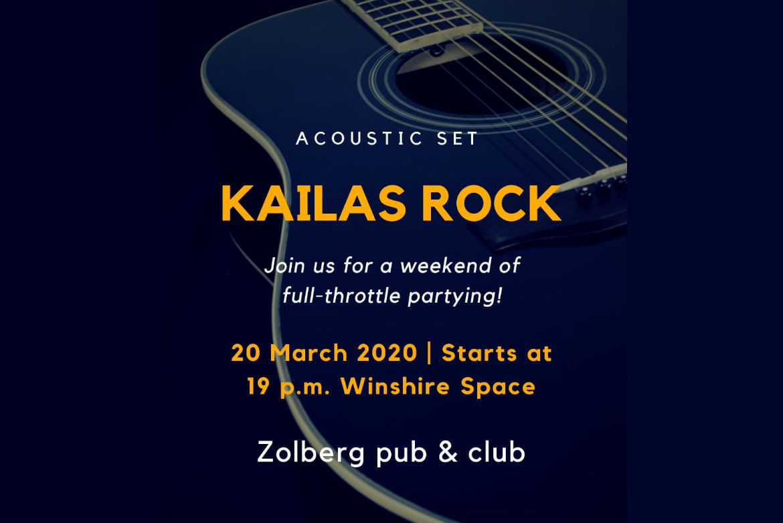 Kailas Rock 20 марта в 19:00